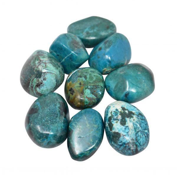 Chrysocolla Tumbled Stone