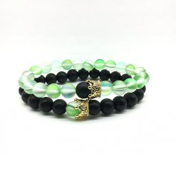 Harmony distance bracelets for him and her