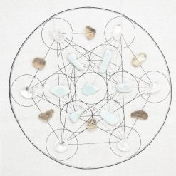 Metatrons Cube Crystal Grid Kit