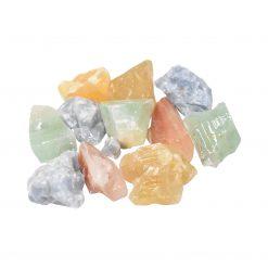 Natural Coloured Rough Calcite