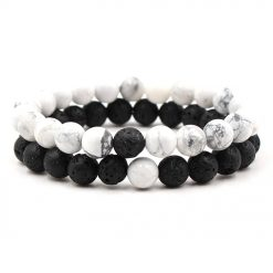 Soulmate distance bracelets set for him and her