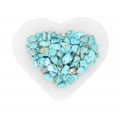 Turquoise Crystal Chips